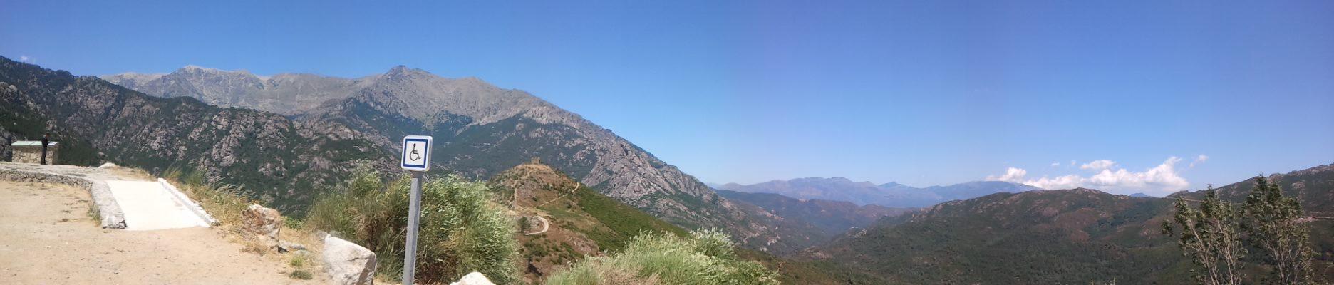 Turismo Accessibile - entroterra Corsica