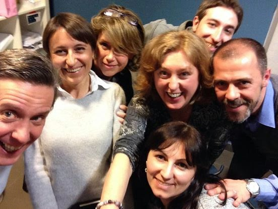 selfie #tellingstories team