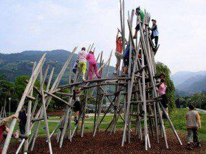 Arrampicarsi sugli alberi a Bolzano