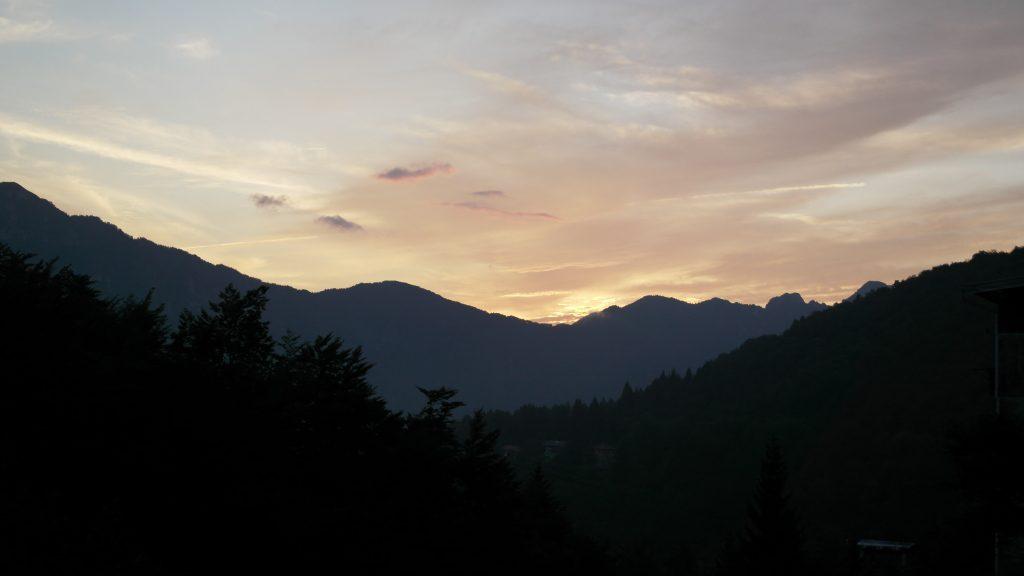 Piccole Dolomiti Tramonto