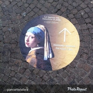 La ragazza con l'orecchino di perla a Bologna