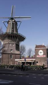 Mulino a vento De Gooyer Amsterdam