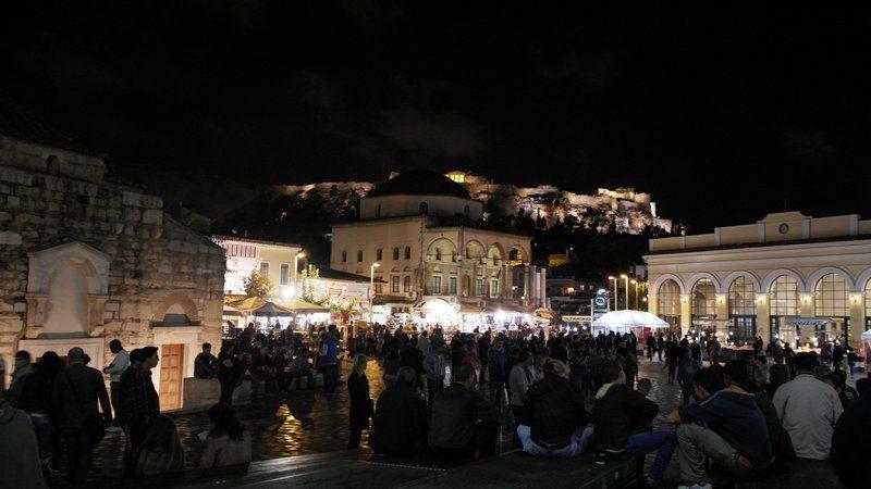 Piazza di Monastiraki Atene
