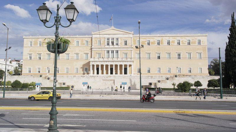 Parlamento e Piazza Synyagma Atene