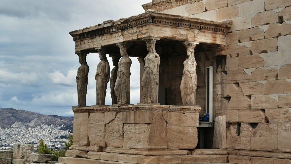 Portico delle Cariatidi - Atene