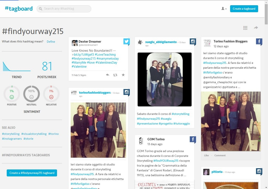 findyourway215 tagboard