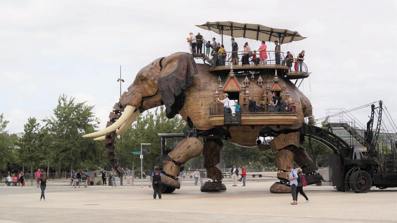 L'elefante meccanici di Nantes