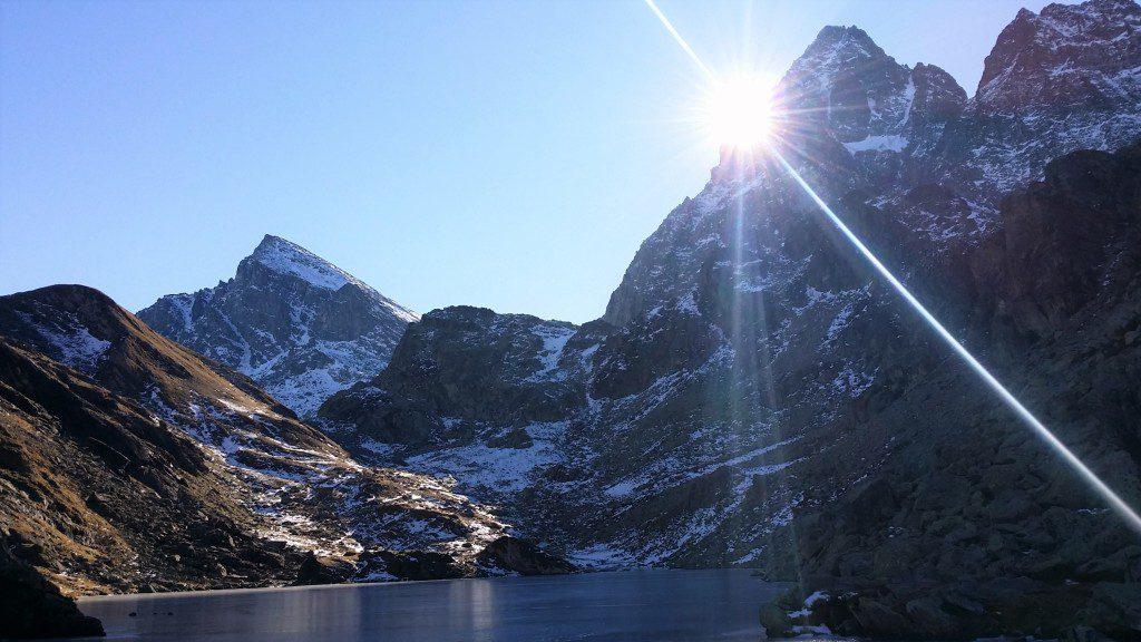 lago fiorenza pian del re valli del monviso