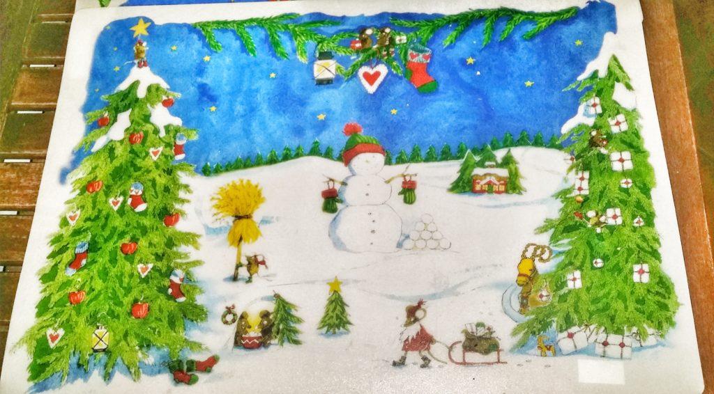 Tovaglietta natalizia IKEA