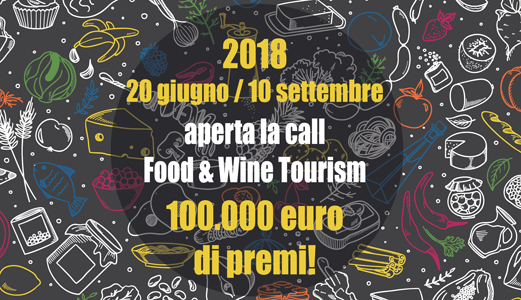 Sfida 2018-Food-amd-Wine-Tourism-turismo lento-invitalia