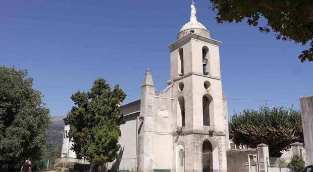 Corsica. Vico e le couvent de Saint Francois.