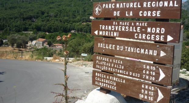 Trekking in Corsica. Da Corte alla Valle della Restonica