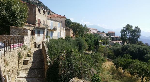Corsica. Lumio nella haute Balagne