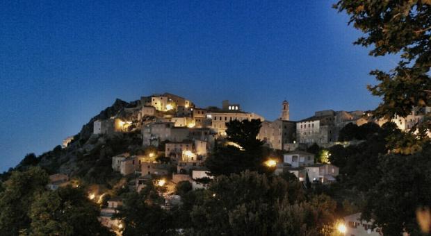 Corsica. borgo di Speloncato