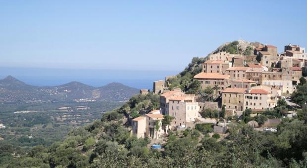 Corsica. borgo di Belgodere