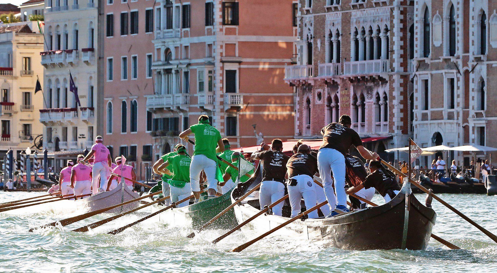 Visitare Venezia per la regata storica - le imbarcazioni