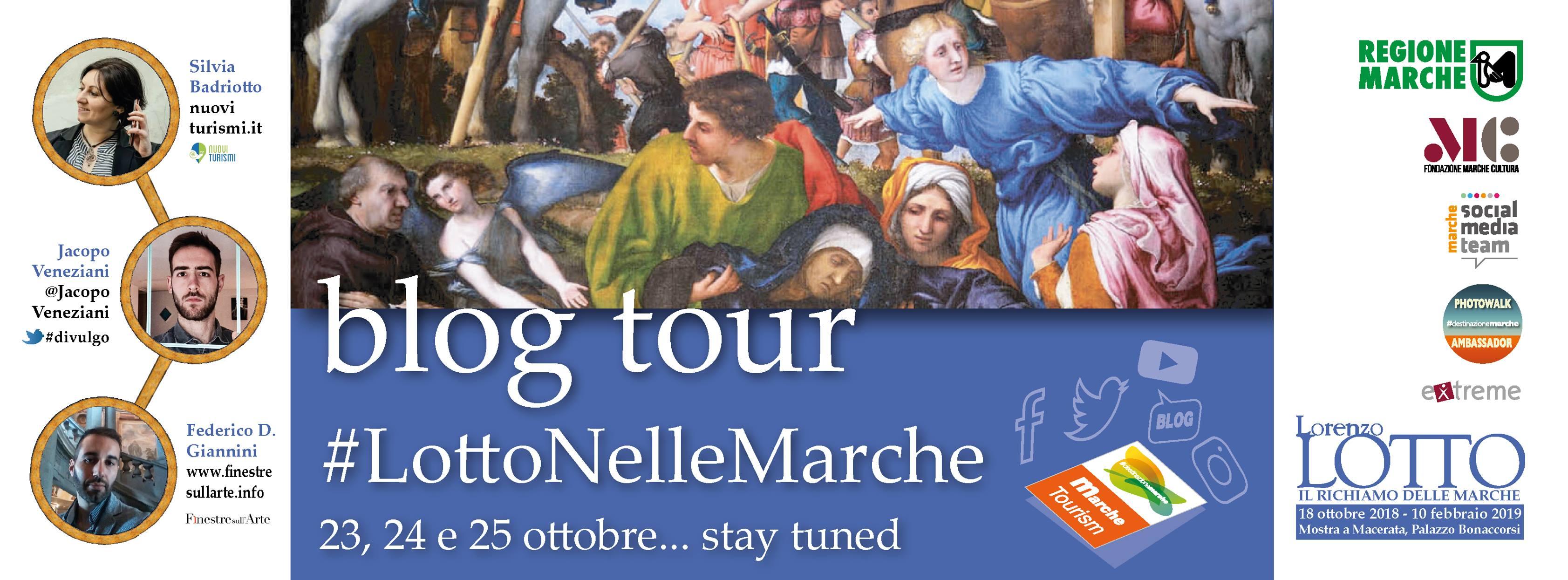 Lotto nelle Marche - blog tour e mostra Macerata