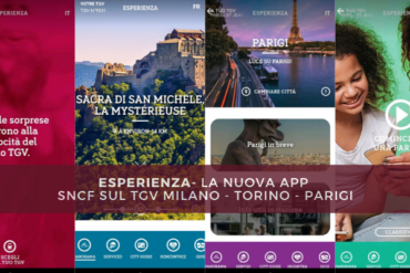 Esperienza - La nuova applicazione SNCF sul TGV Milano - Torino - Parigi