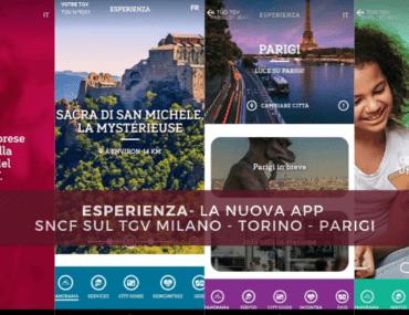 Esperienza – La nuova applicazione SNCF sul TGV Milano – Torino – Parigi