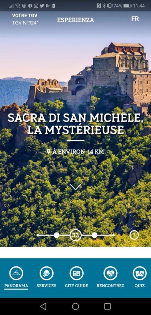 Esperienza SNCF - Sacra di San Michele