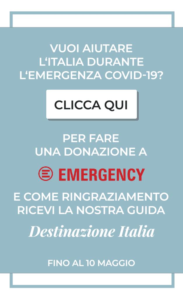 Donazione Emergenza Covid 19 Emergency - Travel Blogger per l'Italia