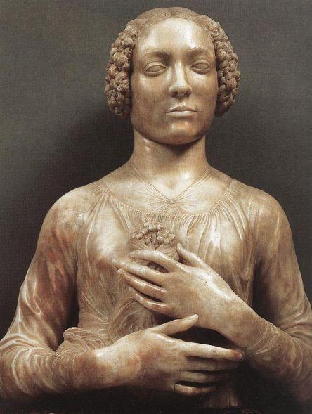 Andrea del Verrocchio - La dama con il mazzolino